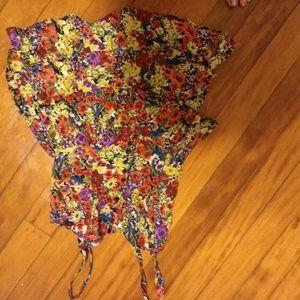 Wax Jeans floral mini dress (reposh)